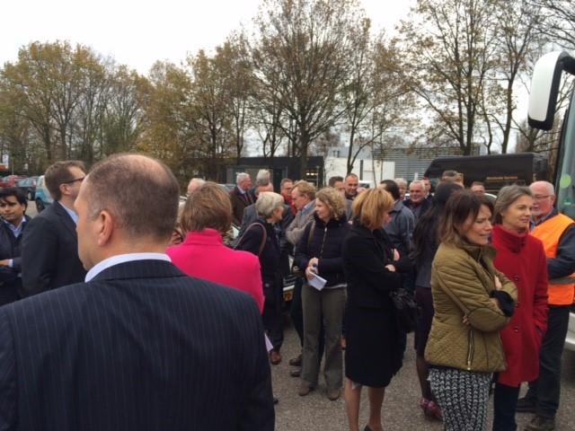 Rode Loperdag Bedrijfsbezoek bij Pon Leusden